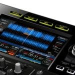 Pioneer CDJ-RX2 screen