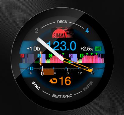 ddj1000 display