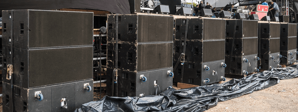 Cardioid Bass Array Festival