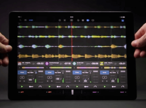DJAY Pro with iPad Pro