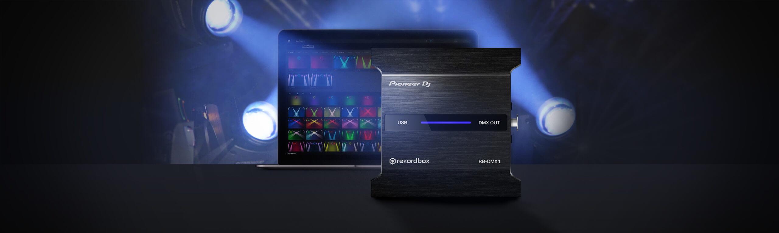 Pioneer DJ's Rekordbox Lighting Interface, the RB-DMX1