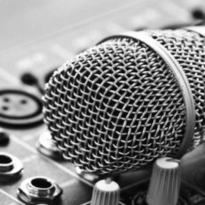 Karaoke mic and mixer