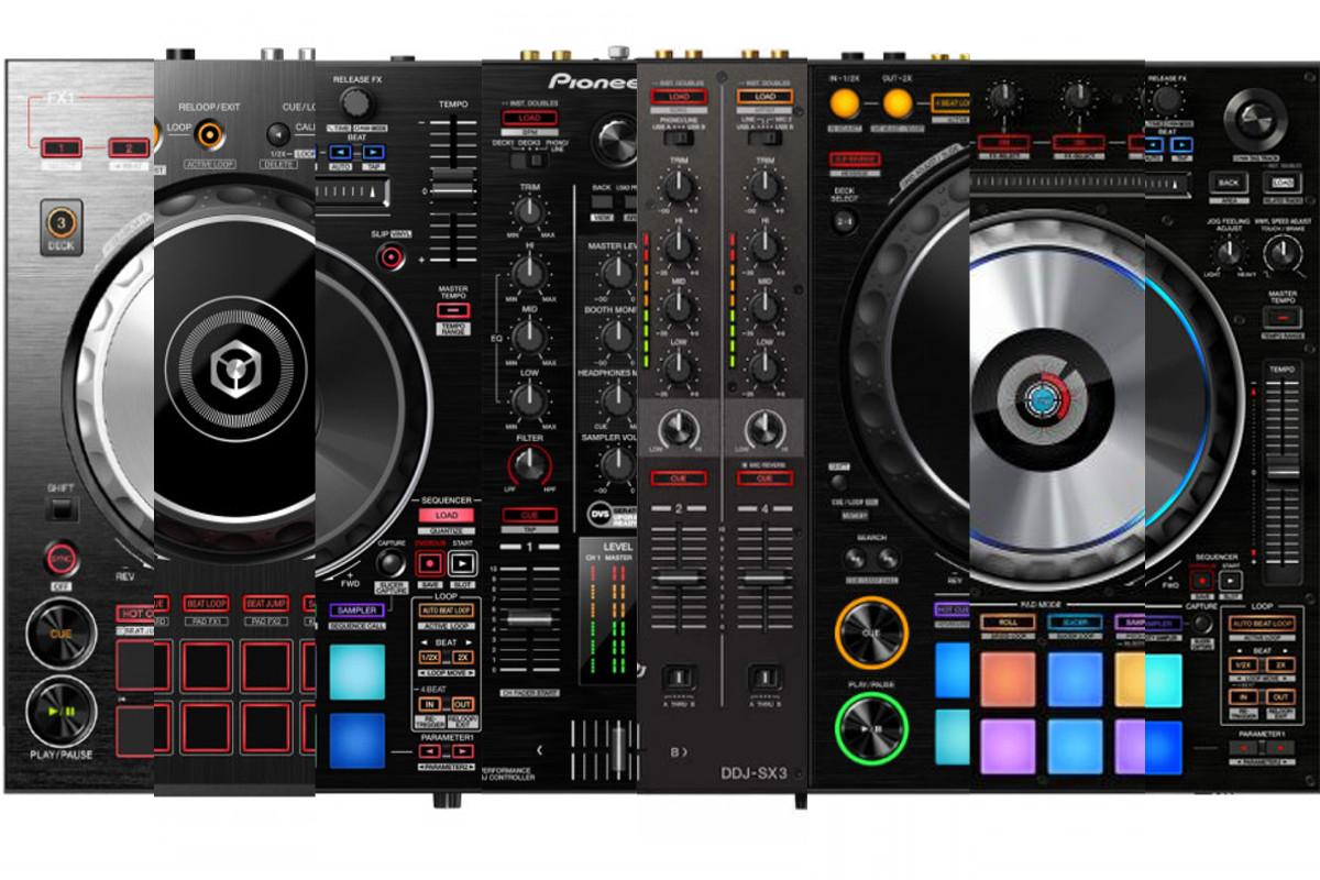 PIONEER DJ CONTROLLER JOG WHEEL SIZE
