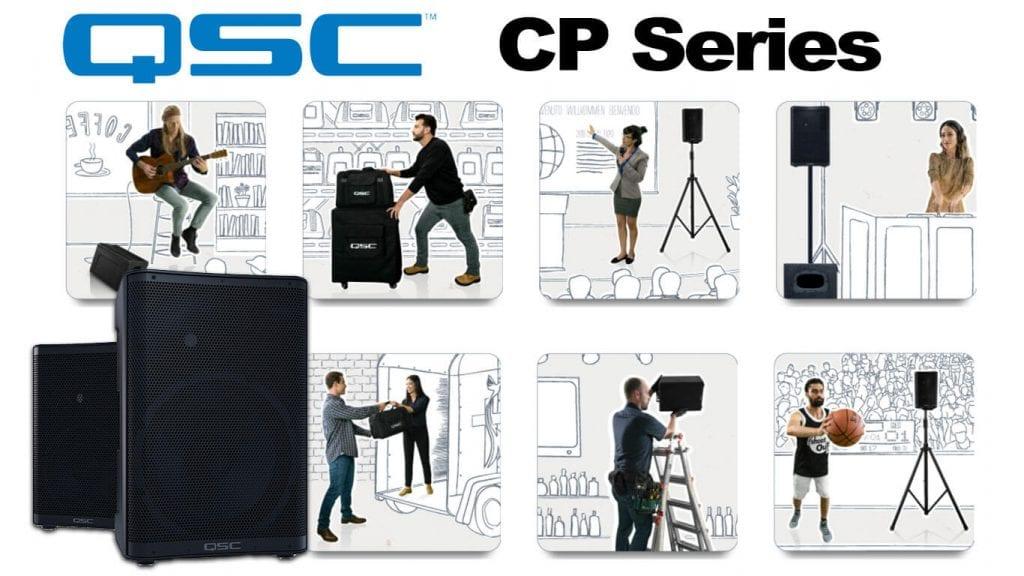 QSC CP Series Speakers