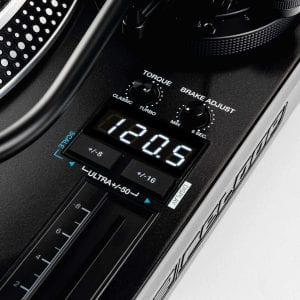 Reloop RP-8000 mk2 LCD view