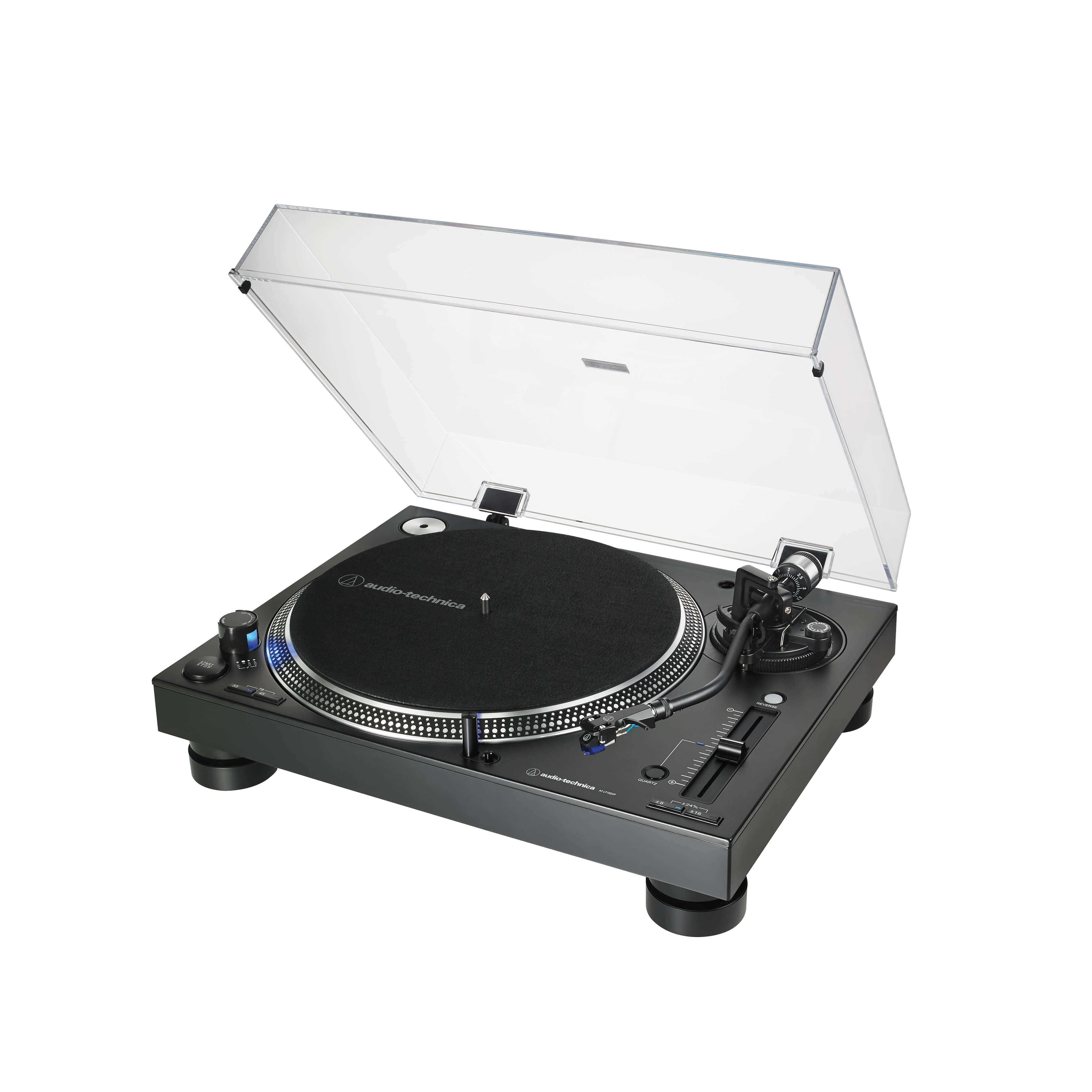 AT-LP140XP black and silver