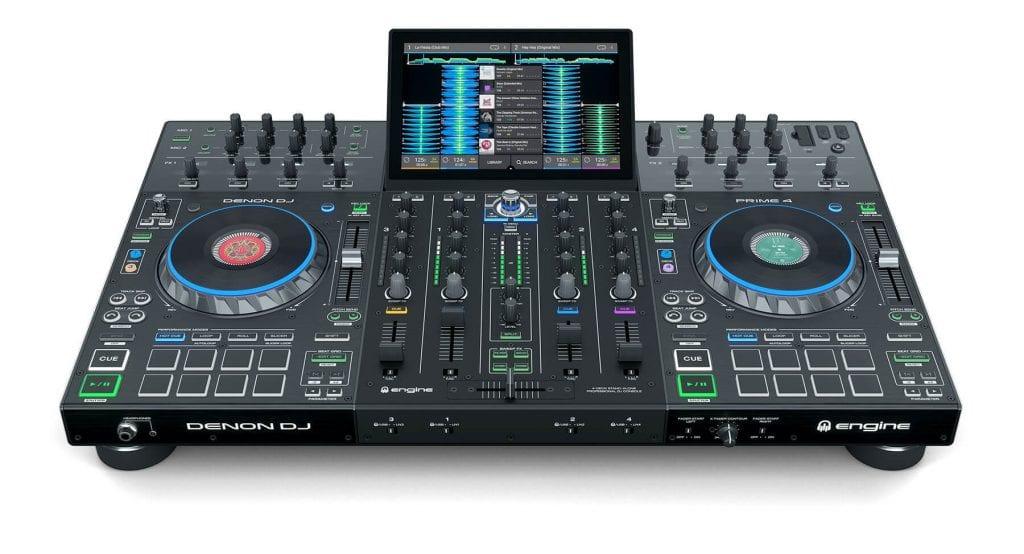 Denon DJ Prime Top View