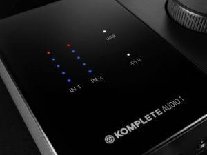 Komplete Kontrol Audio 1 VU meter