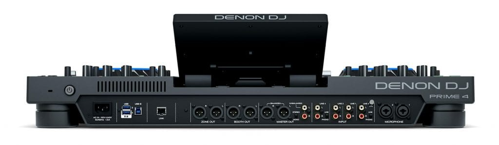 Denon Prime 4 Rear View