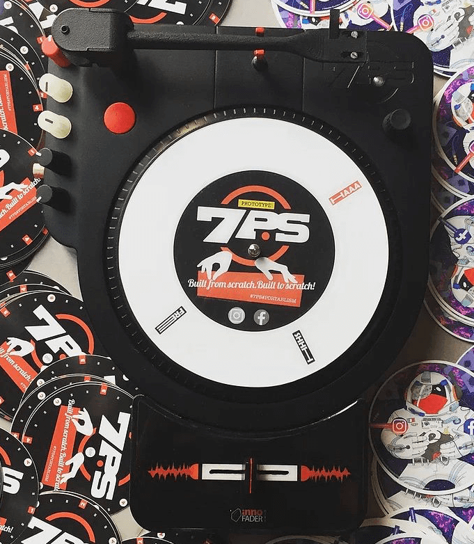 7PS Portable Turntable NAMM2019