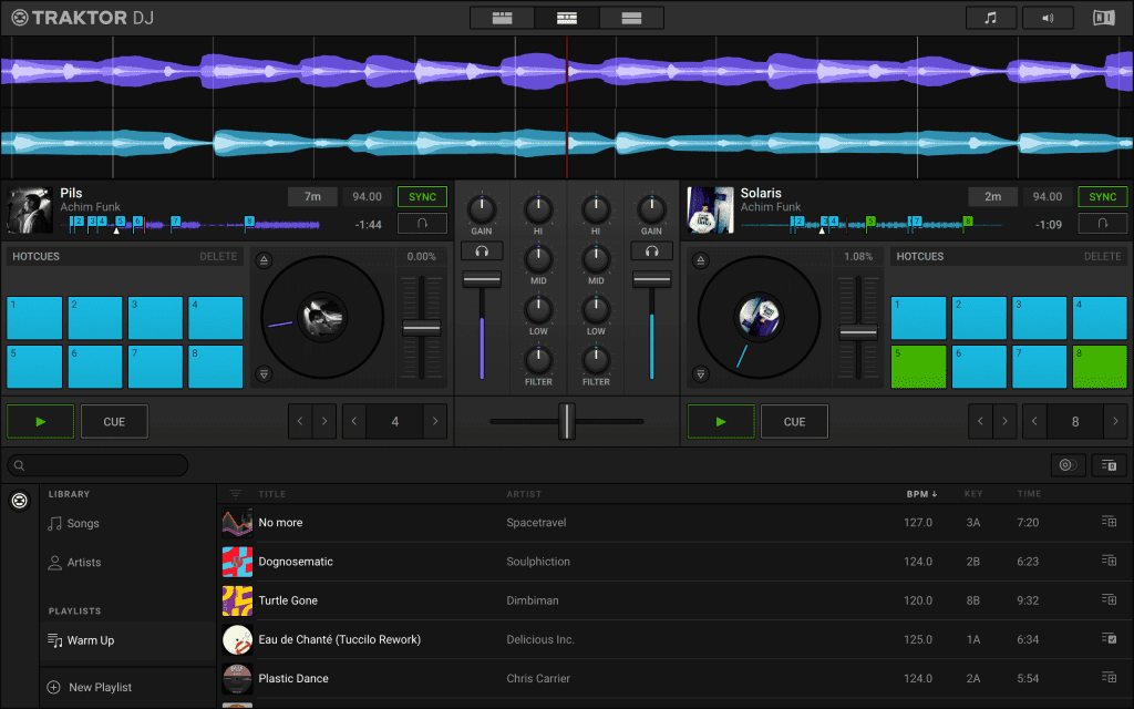 Traktor DJ 2 iOS Mac and PC