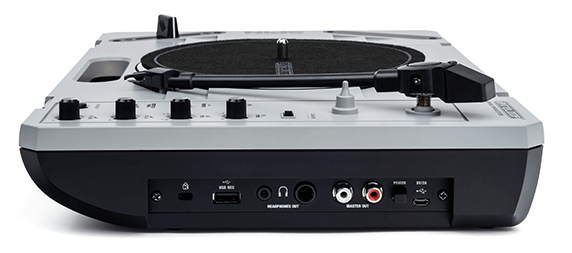Reloop SPiN Portable Turntable Connections