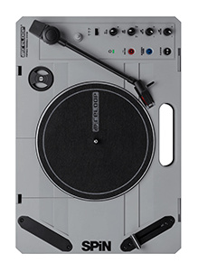 Reloop SPiN Portable Turntable Top View
