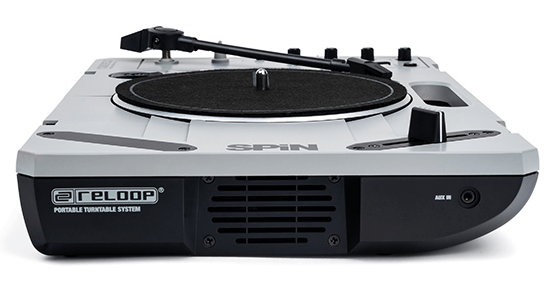 Reloop SPiN Portable Turntable side