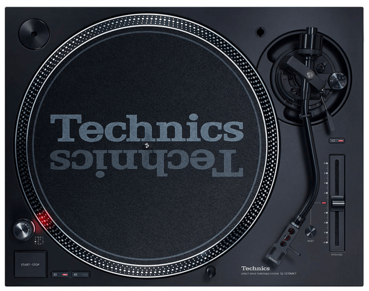Technics SL1210 MK7 Top View