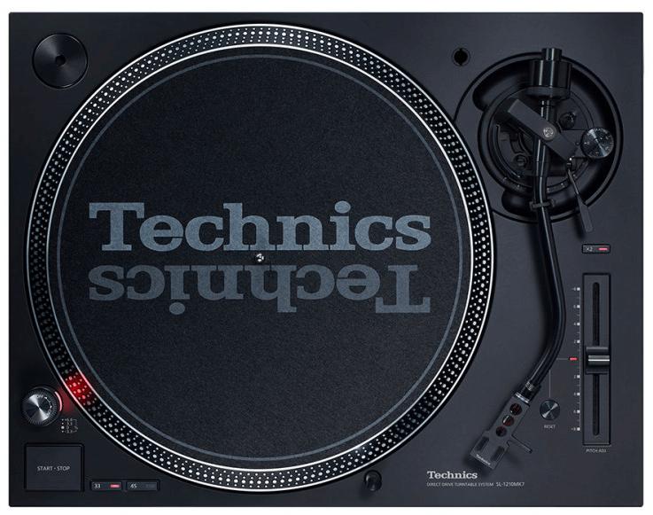 Technics SL1210 MK7 Top View