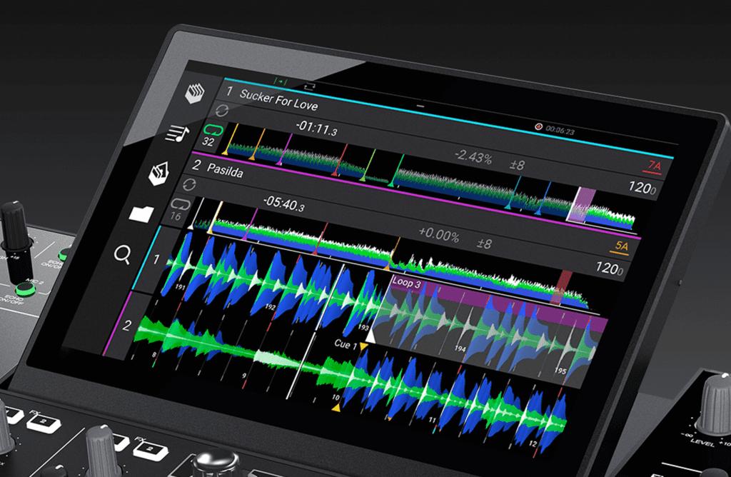 Denon DJ Horizontal Waveforms