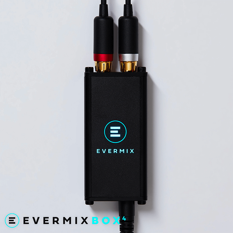 Evermix Box 4 iOS DJ Audio Interface